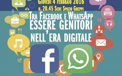 Tra Facebook e WhatsApp essere genitori nell'Era digitale – Comune di Pero