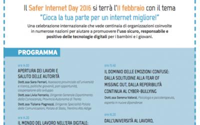 Safer Internet Day Trento 2016