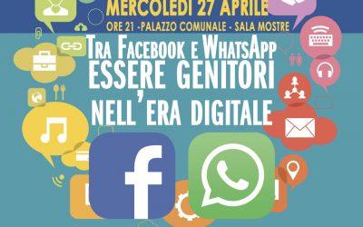 Tra Facebook e WhatsApp essere genitori nell'Era digitale – Comune di Bovisio Masciago