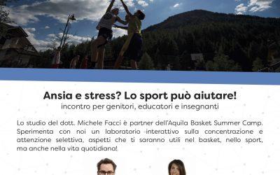 Ansia e stress? Lo sport può aiutare!